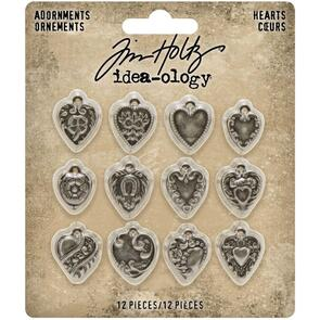 Idea-Ology  Metal Adornments 12/Pkg