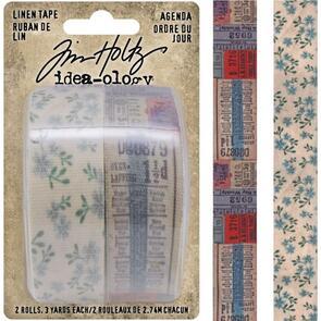 "Idea-Ology  Tim Holtz Linen Tape 1""X3yd 2/Pkg"