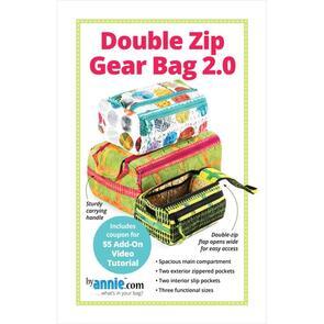 ByAnnie  Patterns By Annie - Double Zip Gear Bag 2.0