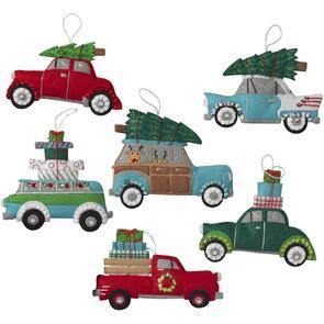 Bucilla Felt Ornaments Applique Kit Set Of 4 - Holiday Shopping Spree