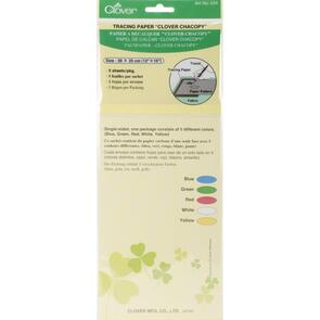Clover  Chacopy Tracing Paper 5/Pkg