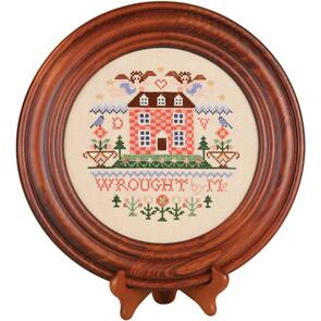 """Sudberry House  Mahogany Crown Plate 11.5"""" Round"""