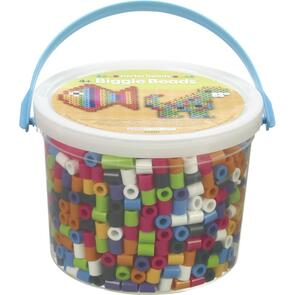 Perler  BIGGIE Beads 1,200/Pkg - Assorted Colors