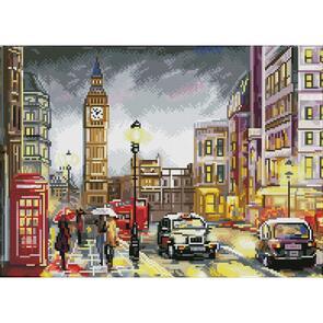 Diamond Dotz Squares Kit - London Scene