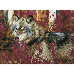 Diamond Dotz Squares Kit - Autumn Wolf