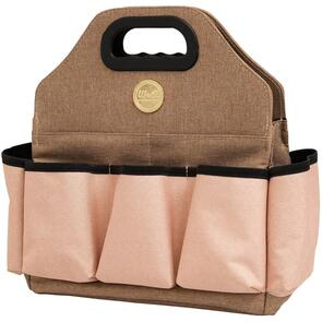 WRMK Crafter's Tote Bag - Taupe & Pink