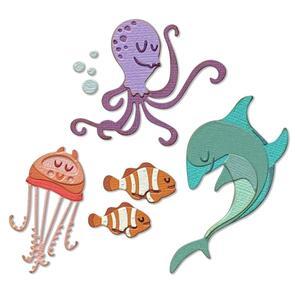 Sizzix  Thinlits Dies By Tim Holtz 22/Pkg - Under the Sea #1