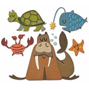 Sizzix  Thinlits Dies By Tim Holtz 23/Pkg - Under the Sea #2