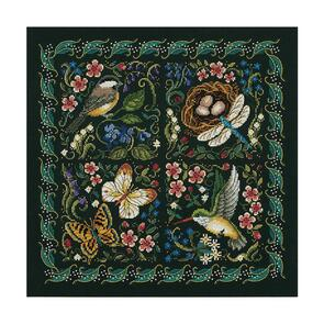 Dimensions Gold Collection Cross Stitch Kit - The Finery Of Nature