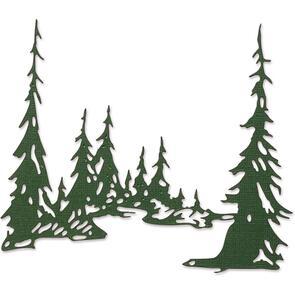 Sizzix Tim Holtz Die - Tall Pines