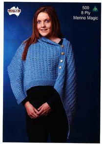 Heirloom 500 Knitting Pattern Shawl