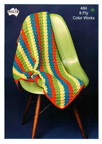 Heirloom 484 Knitting Pattern Blanket
