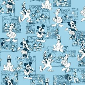 Springs Creative  Sensational 6 Comic Strip - CP72916 - Disney - Blue