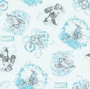 Nutex Marvel Avengers Sketched - 110