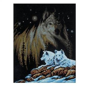 Janlynn  Counted Cross Stitch Kit: Northern Lights