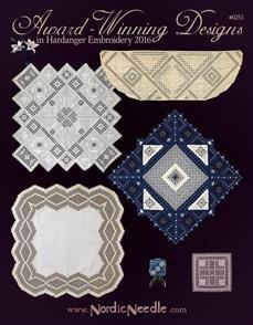 Award Winning Hardanger  Designs in Hardanger Embroidery 2016
