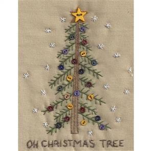 Chickadee Hollow Christmas Keepsake Ornament - Country Christmas Tree