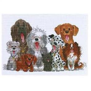 Janlynn  Cross Stitch Kit: Dogs of Duckport