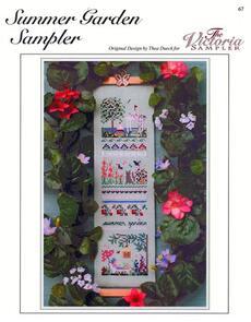 The Victoria Sampler  Summer Garden Sampler