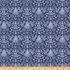 Susan Winget  - Fabric - Chinoiserie, Blue - 104