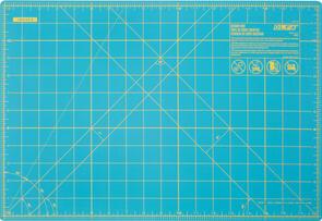 "OLFA Gridded Cutting Mat 12"" x 18"" Aqua"