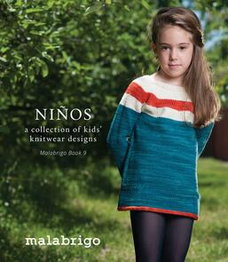 Malabrigo Book 9 - Ninos, kids knitwear designs