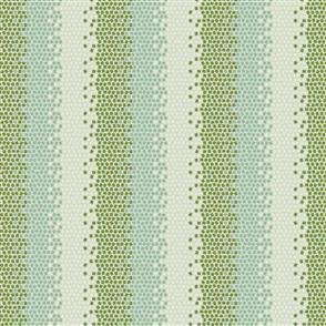 Tilda Tilda Fabric - Lemontree Collection - Mosaics Green