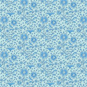 Tilda Tilda Fabric - Bird Pond Collection - Mila Teal