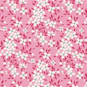 Tilda Tilda Fabric - Apple Butter Collection - Peggy Pink