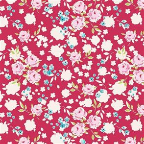 Tilda Tilda Fabric - Apple Butter Collection - Bonnie Red