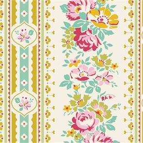 Tilda Tilda Fabric - Apple Butter Collection - Billy Jo Yellow