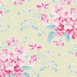 Tilda Tilda Fabric - Happy Camper Collection - Primrose Green