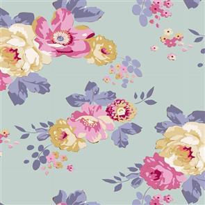 Tilda Tilda Fabric - Maple Farm - Pauline Teal