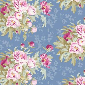Tilda Tilda Fabric - Woodland Collection - Hazel Blue