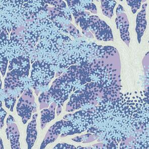 Tilda Tilda Fabric - Woodland Collection - Juniper Blue