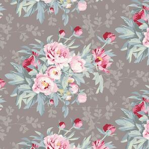 Tilda Tilda Fabric - Woodland Collection - Hazel Grey