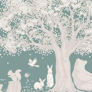 Tilda Tilda Fabric - Woodland Collection - Woodland Sage