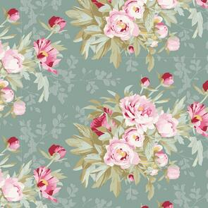 Tilda Tilda Fabric - Woodland Collection - Hazel Sage