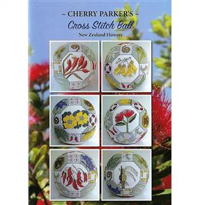 Cherry Parker  Cross Stitch Ball - NZ Flowers
