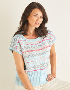 Sirdar Fairisle Pullover in Country Classic 4 Ply