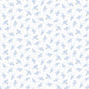 Trendy Trims - Fabric - Contempo Baby Buddies 10283.05 - Blue