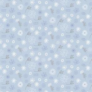 Trendy Trims - Fabric - Contempo Baby Buddies 10284-05 - Blue
