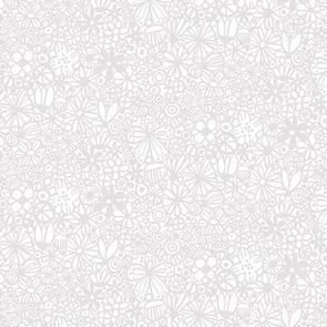 Trendy Trims - Fabric - Contempo Baby Buddies - 10285.11 - Grey