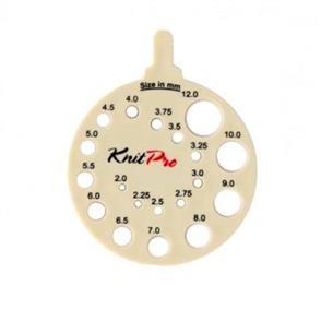 Knitpro  KnitPro: Needle View Sizer Round Ivy