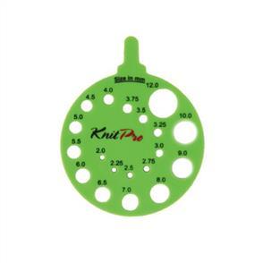 Knitpro  KnitPro: Needle View Sizer Round Envy