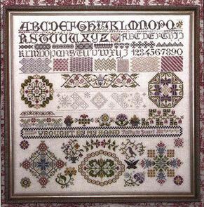 Rosewood Manor Cross Stitch Designs - Past & Present