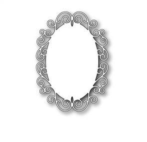 Poppystamps Claudette Oval Frame - Die