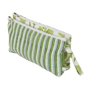 Knitpro Knit Pro Fabric Double Zipper Pouch Bag - Radiance