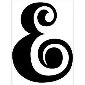 Darice  Embossing Folder - Ampersand