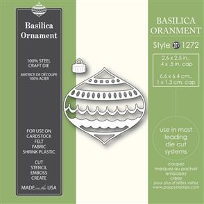 Poppystamps Basilica Ornament - Die